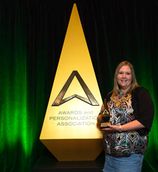 2016 Volunteer of the Year Marla Amy Dallman Epilog Laser