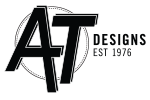 AT designs logo